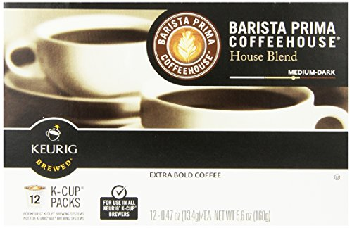 Barista Prima Coffeehouse Coffee, Keurig K-Cups, House Blend, 72 Count (Keurig Barista House Blend compare prices)