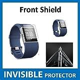 Protecteur d'écran INVISIBLE Fitbit Surge Fit Bit Watch (Protecteur Avant inclus) Protection Grade Militaire Exclusive à ACE CASE