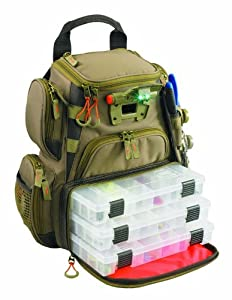 Wild River by CLC WT3503 Tackle Tek Recon Lighted Compact Backpack with Four PT3500... by Custom Leathercraft