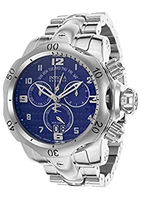 Invicta 17632 Men's Venom Reserve Chronograph Stainless Steel Blue Dial