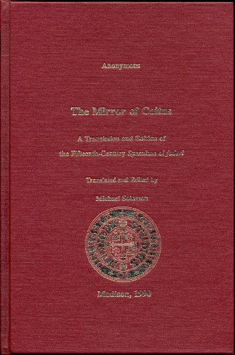 The mirror of coitus: A translation and edition of the fifteenth-century Speculum al foderi (Medieval Spanish medical texts series)
