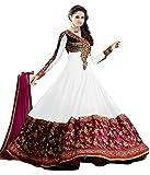 RND Creation White Color Rakhi Special Semi-Stitched Salwar Suit