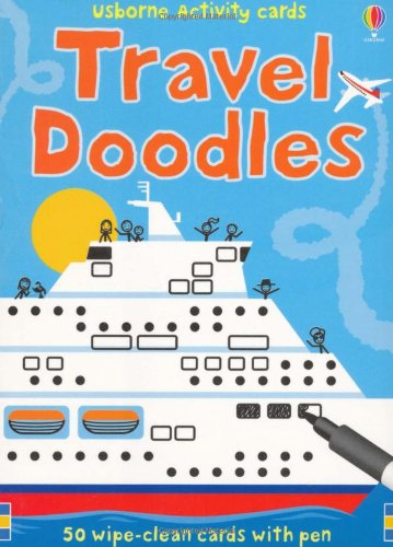 Travel Doodles (Usborne Activity Cards)