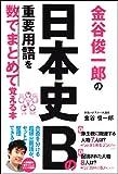 金谷俊一郎の 日本史Bの重要用語を数でまとめて覚える本