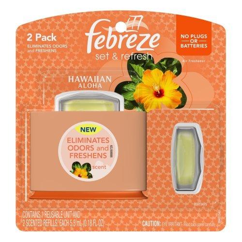 Febreze Air Freshener + 2 Refills - Hawaiian Aloha