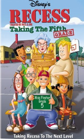 Recess: Taking the Fifth Grade [VHS] [Import]