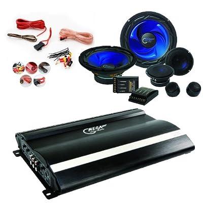 Auto Musikanlage Einbauboxen Boxen Endstufe Verstärker Lautsprecher CAR-31 von etc-shop - Reifen Onlineshop