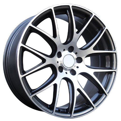 Monza Eurosport Wheels Rims 20X8.5 20X10 Staggered