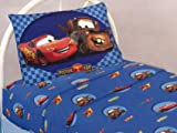 Rustic Style Disney Cars the World of Cars Twin Sheet Set