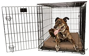 "Orthopedic 4"" Dog Crate Pad - Waterproof & Tear Resistant - For Crates 48 x 30"