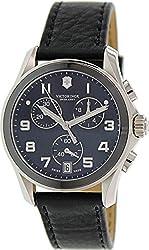Victorinox Swiss Army Chrono Classic Black Ceramic Bezel Mens Watch 241545