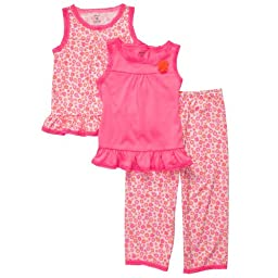 Carter\'s 3-Piece Poly - Pink Ditsy Floral-18 Months