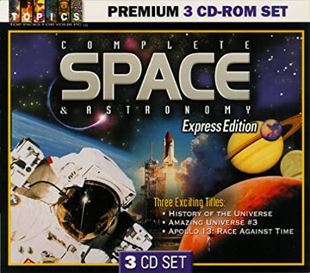 Complete Space & Astronomy 3 CD-Rom Set (Jewel Case)