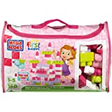 Mega Bloks First Builders Deluxe Building Bag, Pink