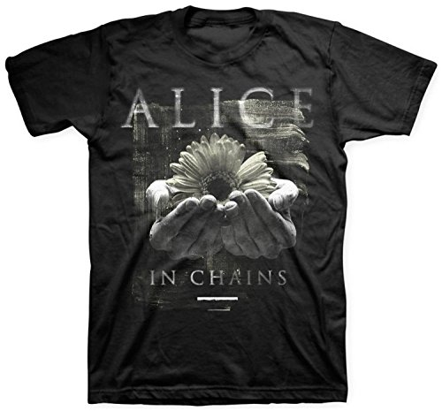 Habo-line Alice In Chains Daisy Hands T-Shirt - Black?Large?