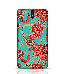 Style baby Seamless Pattern With Decorative Birds OnePlus One Phone Case