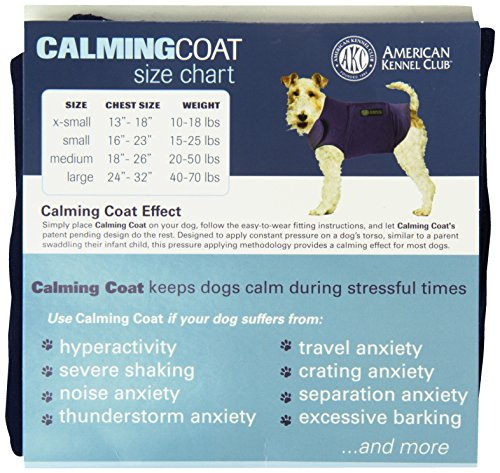 Akc American Kennel Club Calming Coat X Large Grey