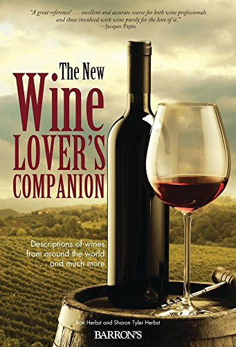 The New Wine Lover's Companion: Descriptions of Wines from Around the World by Ron Herbst