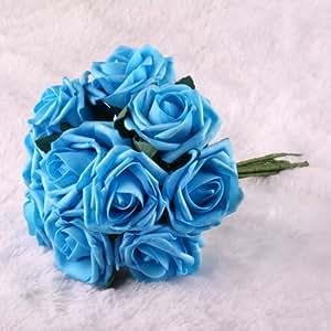 Beauty Bridal Bouquet Rose Flower Wedding Bouquets Latex