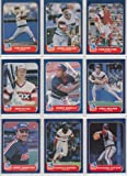 Chicago White Sox 1986 Fleer Baseball Team Set with Year End Update Cards (Ozzie Guillen Rookie)