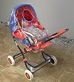 Heless 968 - Regenschutz für den Puppenwagen, Maße, circa 62 x 28 x 34 cm