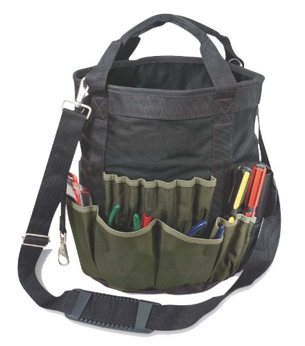 Tool Bag and Tool Bucket Organizer in one. No Bucket Required