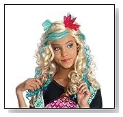 Monster High Lagoona Blue Girls Wig