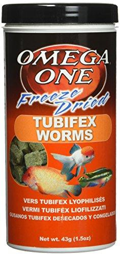 Omega One Freeze Dried Tubifex 1.5oz