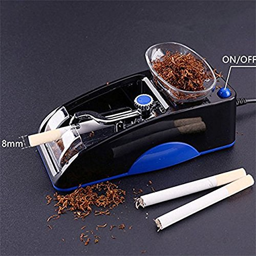 hibron® Machine Electrica entubadora of Cigar Tubes Rolling Tobacco Notebook High Quality 58003 AZUL
