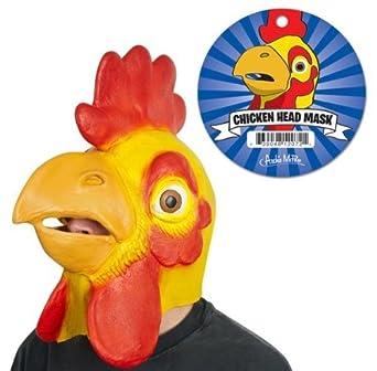 Creepy Chicken Head Mask