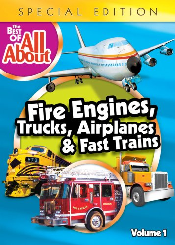 Best of All About Fire Engines Trucks Airplanes [DVD] [Import]