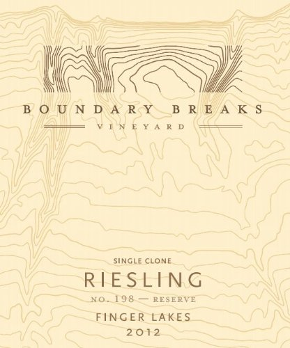 2012 Boundary Breaks Vineyard No. 90 Late Harvest Finger Lakes Riesling 375 Ml