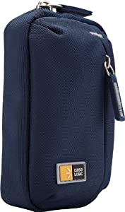 Case Logic TBC-302 Ultra Compact Camera Case with Storage, Blue