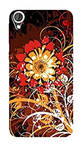 SWAG my CASE PRINTED BACK COVER FOR HTC DESIRE 820 Multicolor