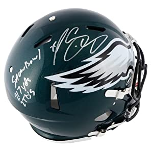 LeSean McCoy Philadelphia Eagles Autographed Pro-Line Riddell Speed Authentic Helmet... by Sports Memorabilia