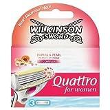 Wilkinson Sword Quattro for Women Razor Blades - Pack of 3