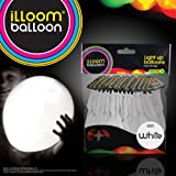 ILLoom Balloon - Fixed LED Light Up Balloons - 15pk (White) - AS SEEN ON BBC DRAGONS DEN
