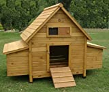 COCOON CHICKEN COOP HEN HOUSE POULTRY ARK NEST BOX NEW - LARGER MODEL 1000-2N WITH 6 NEST BOXES & CLEANING TRAY - 6 LARGE OR 8 MEDIUM OR 10 SMALL BIRDS