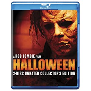 51M5loyp%2BYL. SL500 AA300  Halloween (2 Disc Unrated Collectors Edition) [Blu ray] (2007)