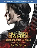 The Hunger Games 4-Film Complete Collection [Blu-ray + Digital HD]