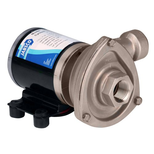 JABSCO LOW PRESSURE CYCLON CENTRIFUGAL PUMP 12V