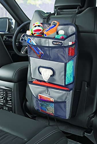 High Road TissuePockets Car Seat Organizer (Gray) (Car Organizer Gray compare prices)