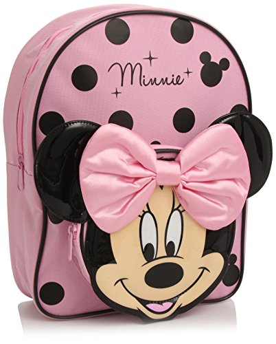 Disney Minnie Mouse Zaino, Colore Rosa/Nero