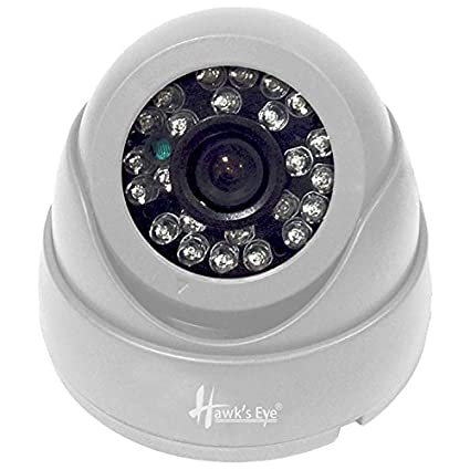 Hawks Eye D14-2480-C4 800TVL IR Dome CCTV Camera