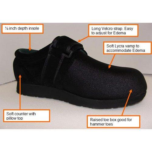 Cheap Dr Zen Beige Titan Men's Therapeutic Diabetic Extra Depth Flex Slipper Shoe Lycra Velcro (B009N7K5JW)