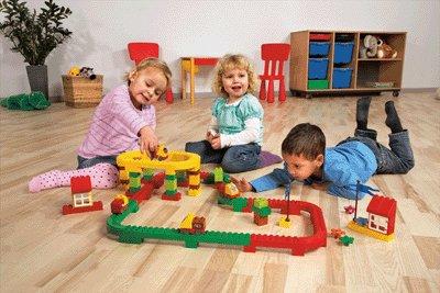 LEGO DUPLO Brick Runner Set 9077 132 tlg.