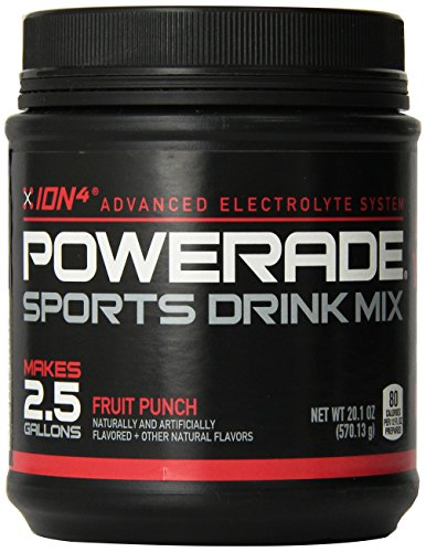Powerade Sports Drink Mix Fruit Punch Sports Drink Powder Mix 20.1oz Makes 2.5 Gallons (Powder Sports Drink Mix compare prices)