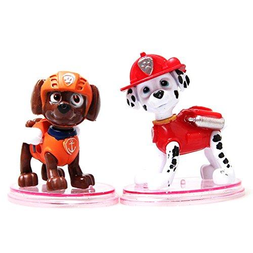 Lote de los 6 personajes de La Patrulla Canina PAW PATROL Action Pack Figuras Articuladas