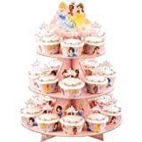 WILTON Disney Princess Cupcake 3-Tier Stand Kit - Holds 24 Cupcakes!