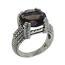 buy Banithani 925 Pure Silver Smokey Topaz Gemstone Ring Fashion Jewelry Gift For Women